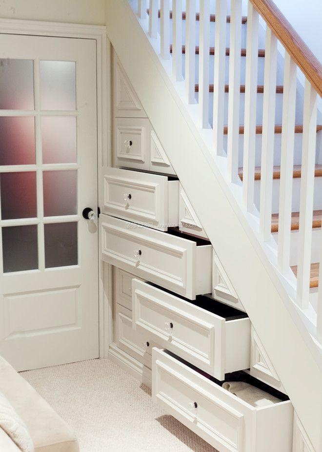 新房子室内楼梯间装修效果图片_装修123效果图