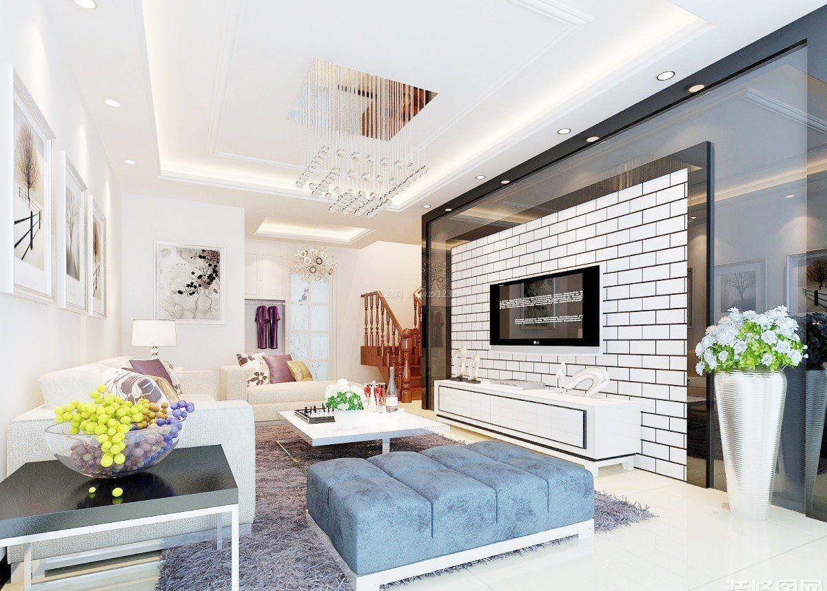 家装设计效果图电视墙 图片合集