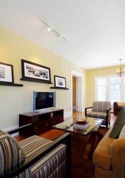 客廳電視墻裝飾設計圖