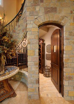 房屋室内楼梯间装修图片2017