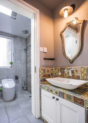 2017现代家装洗手台装修设计