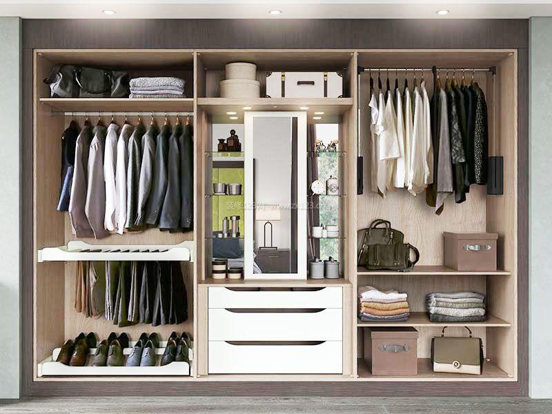 大衣柜内部格局设计分享展示