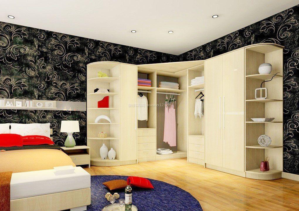 卧室衣柜造型内部格局效果图片大全
