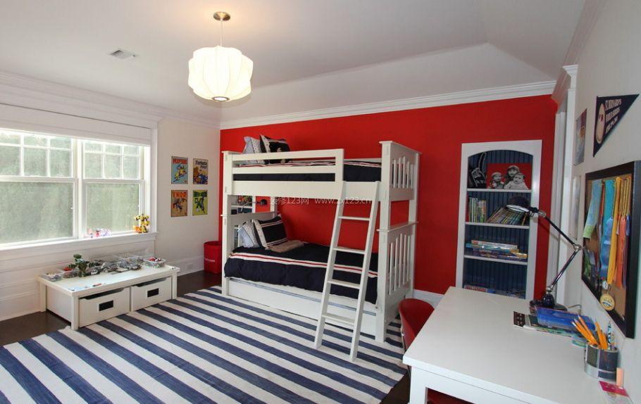 双儿童房间室内设计效果图片