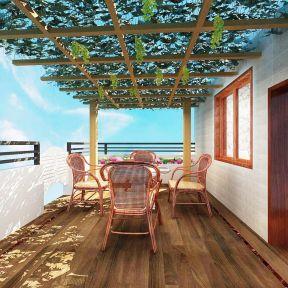 阳光房阳台装修效果图-装修123网效果图大全