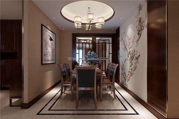 装饰餐厅墙面装饰与吊顶设计-中式餐厅装修技巧 中式餐厅应该怎样装修图片