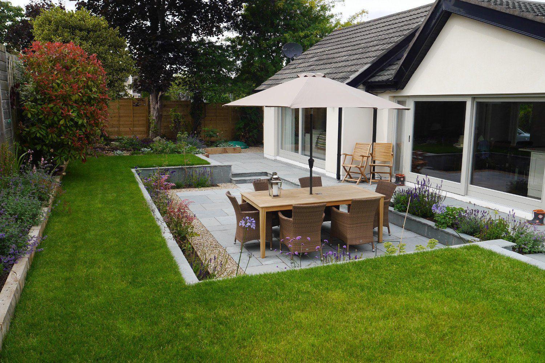 小型独栋别墅后花园设计效果图片_装修123效