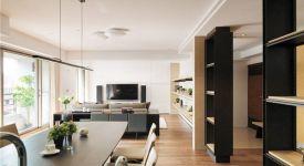 客厅和餐厅一体装修 领略一体化设计魅力
