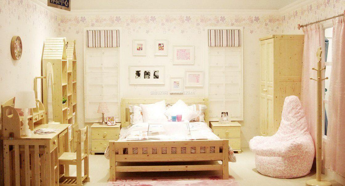 儿童房间温馨布置装修效果图大全图片