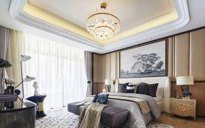 住房装修效果图 卧室吊灯效果图