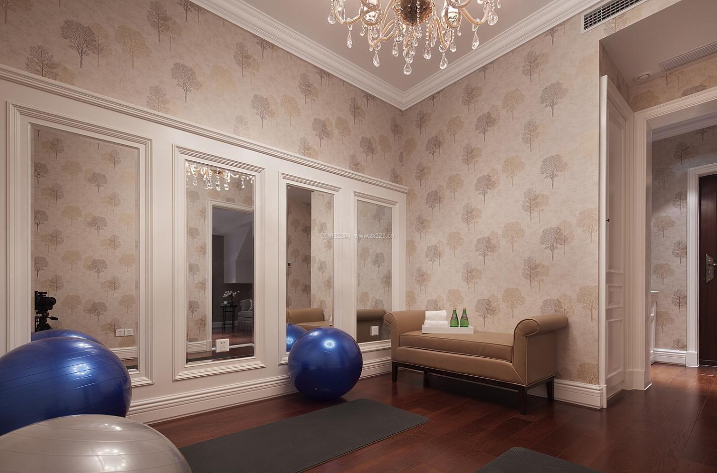 欧式别墅健身房装修效果图大全