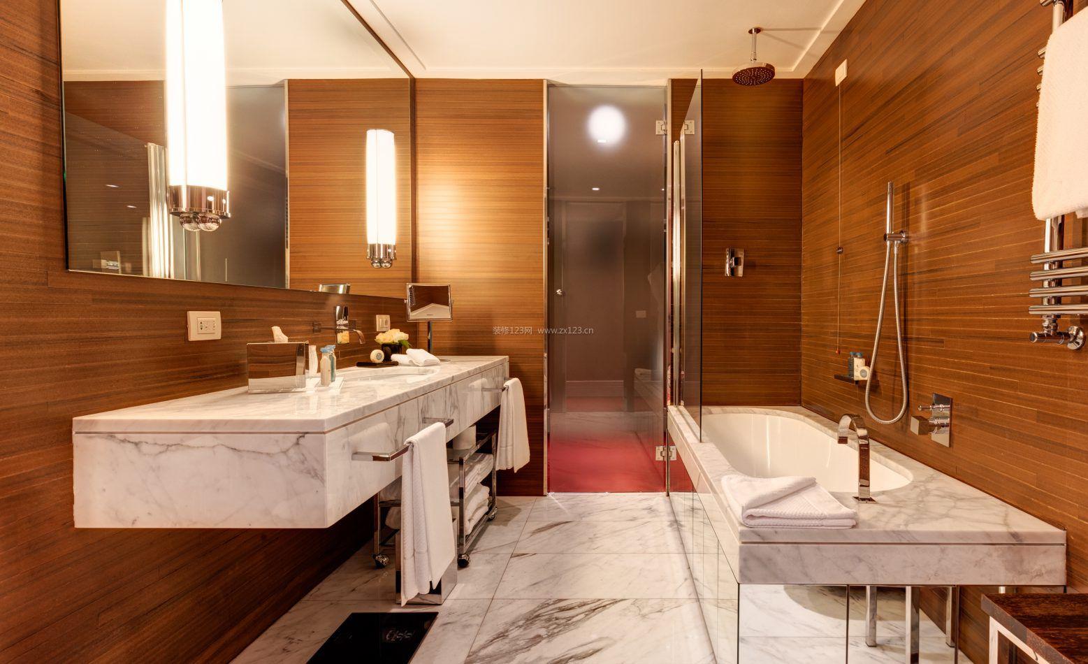 套房卫生间浴室装修效果图