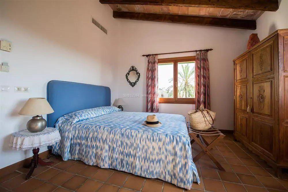 农村室内古典卧室设计效果图纸