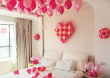气球婚房布置装修 婚房气球怎么扎