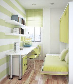 2017单身公寓卧室榻榻米床装修效果图