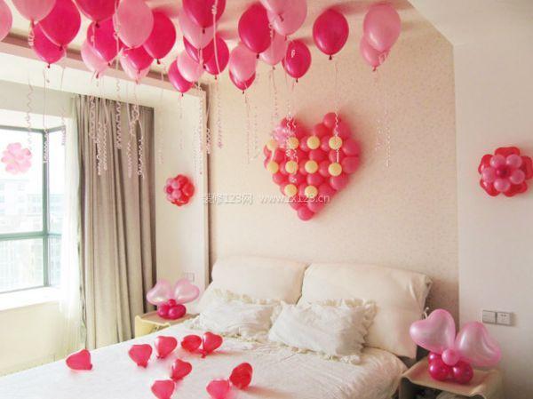 气球婚房装修设计