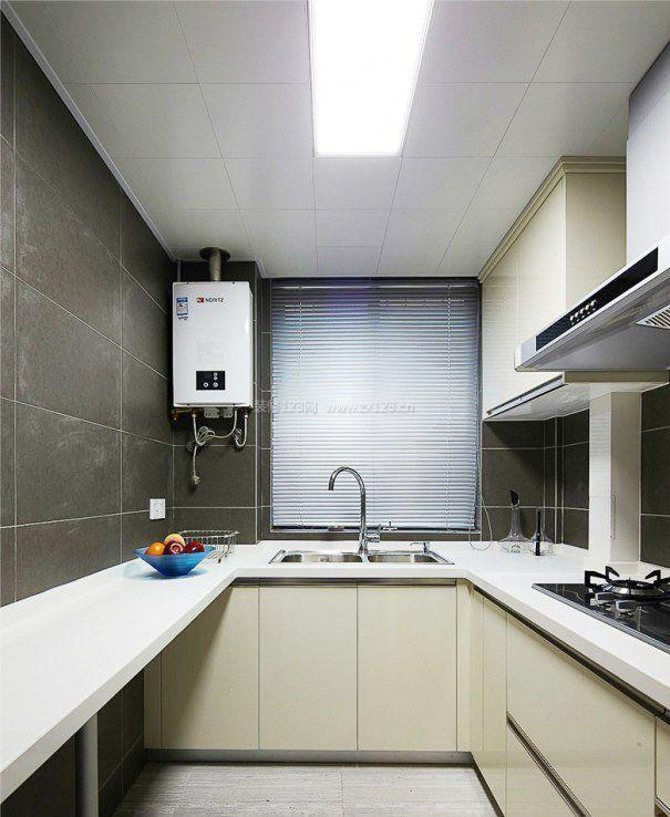 2室1厅小面积厨房设计装修效果图