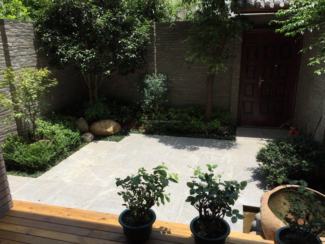 15平米别墅花园围墙护栏设计图片