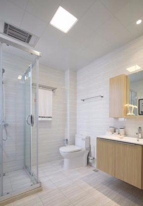 现代简约卫生间装修效果图大全2017图片 整体淋浴房装修效果图片