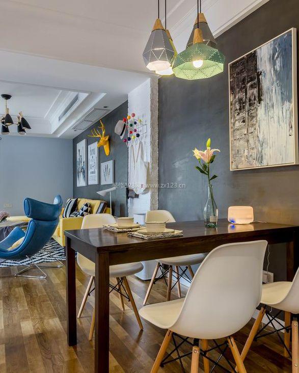 温州房子室内小餐厅装修效果图片
