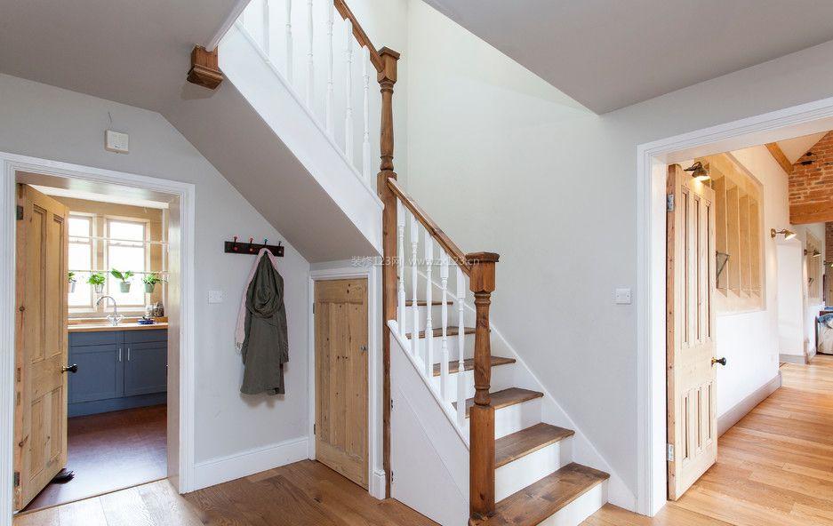 温州房子室内楼梯装修效果图大全