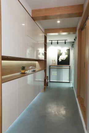 2017现代卧室过道木地板贴图-装修123网效果图大全