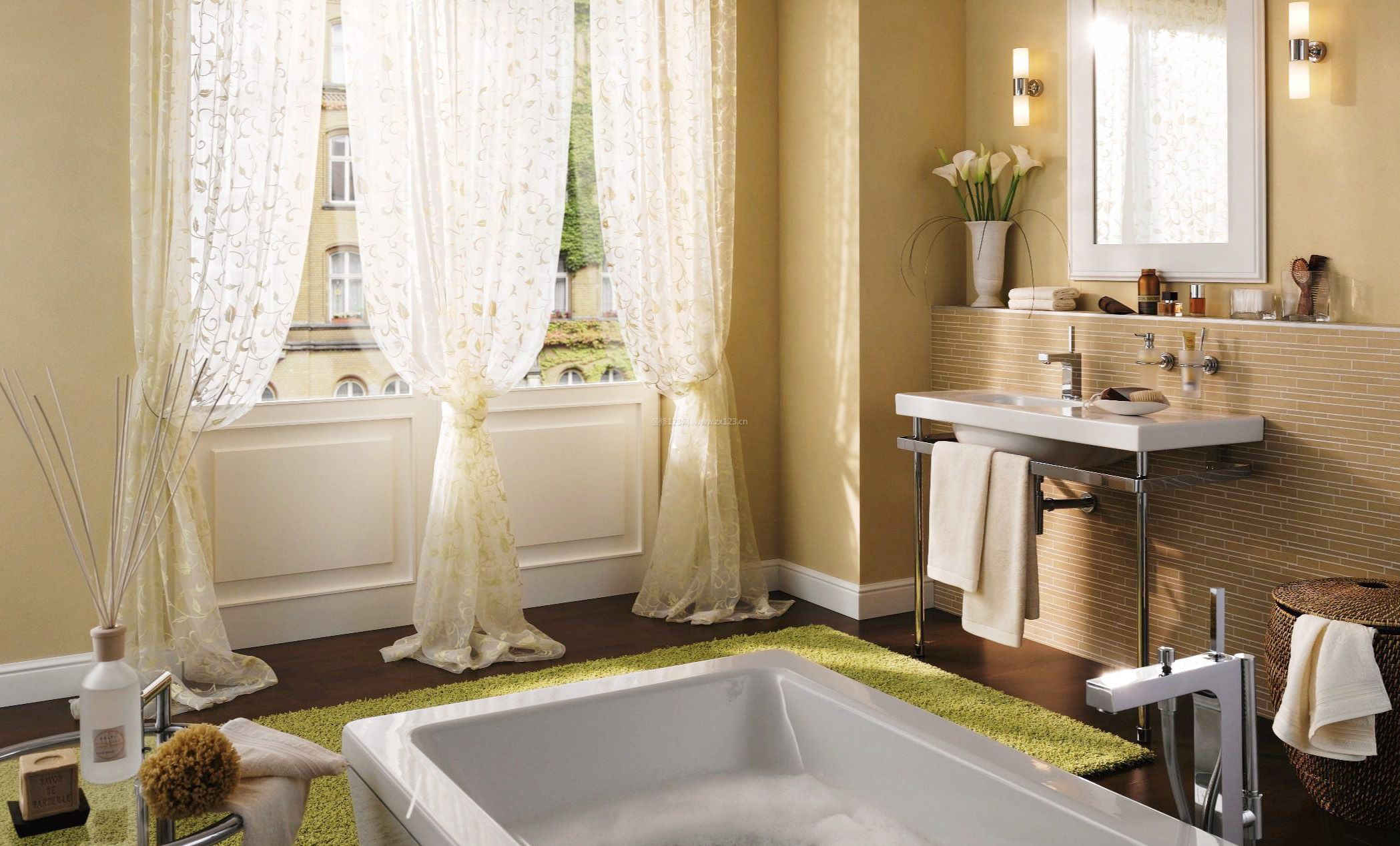 房子室内流行窗帘设计图片大全