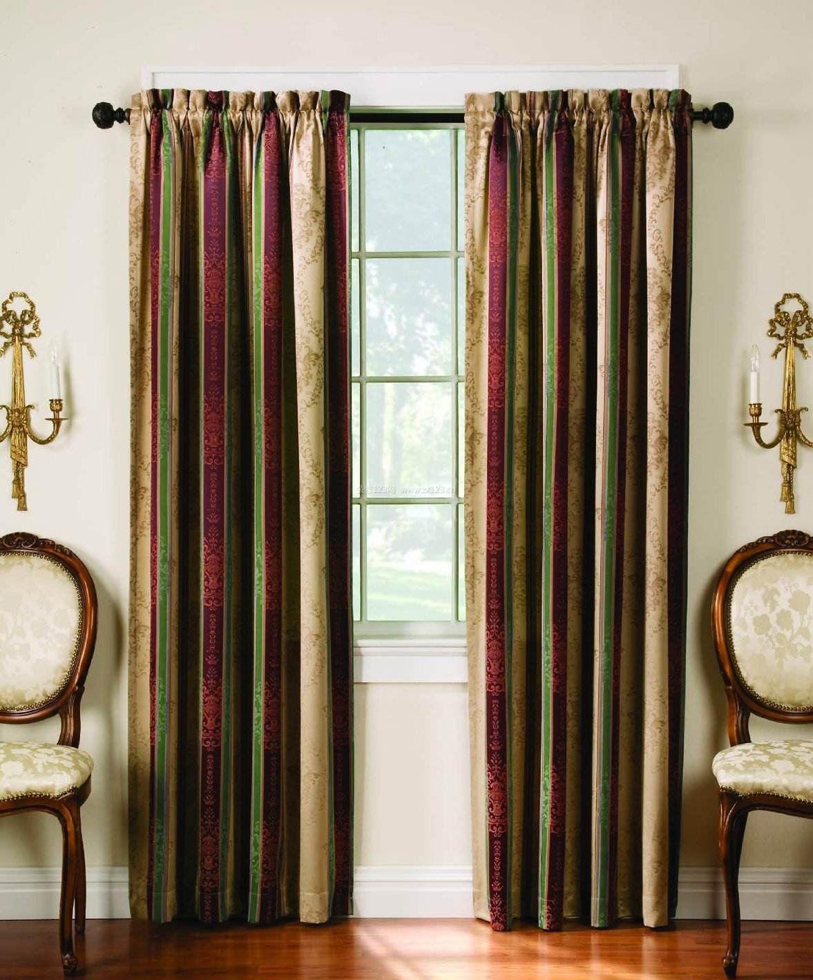 房子室内流行窗帘图片2017图片