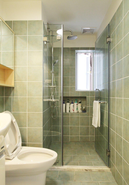 小平米卫生间墙砖颜色装修效果图