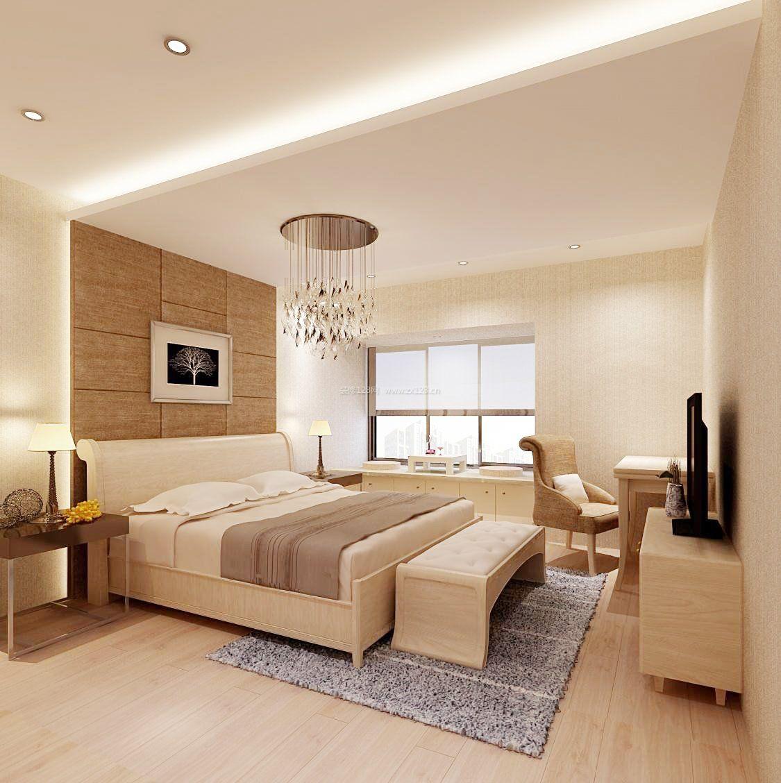 最简洁卧室吊顶装修效果图片