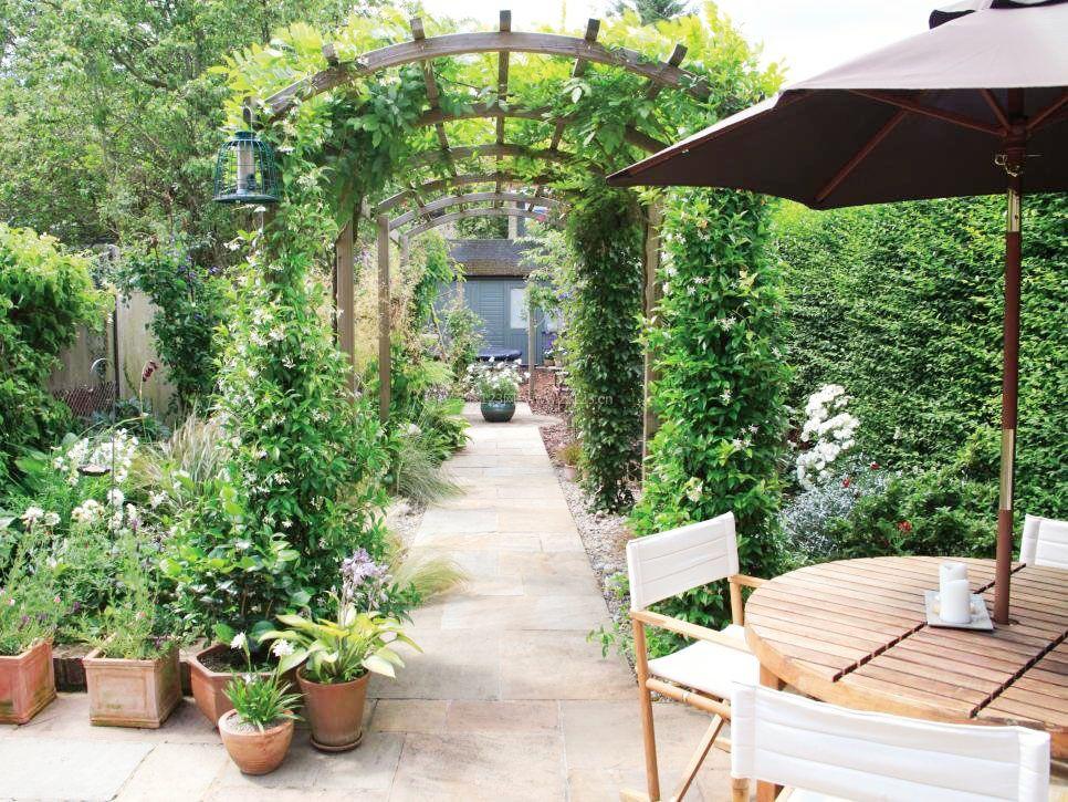 2017最全庭院走道花园设计图片_装修123效果图图片