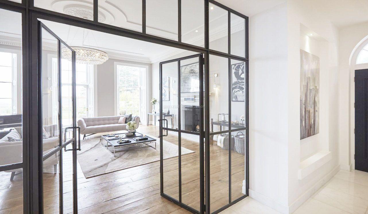 欧式大客厅室内玻璃房效果图图片