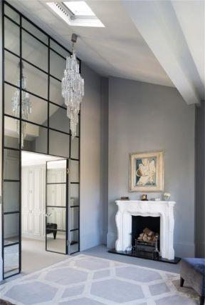 室内玻璃房效果图 装修效果图北欧风格