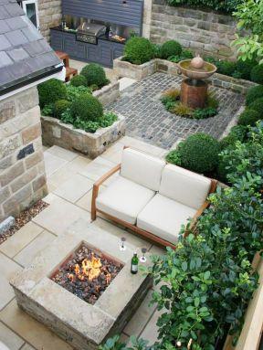 最全庭院设计图片 20平小花园设计实景图图片
