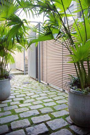 庭院入口景观设计图片
