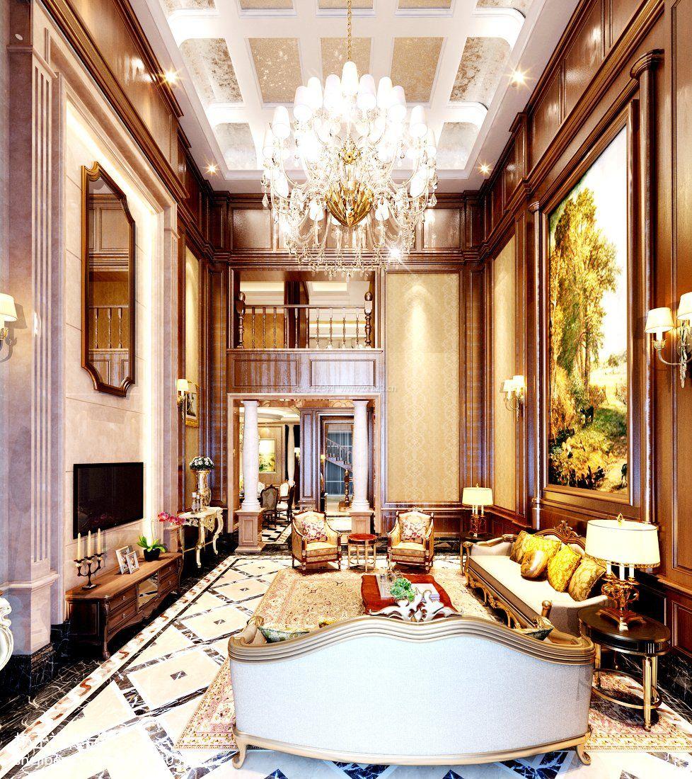 奢华欧式风格复式楼装修效果图大全图片图片