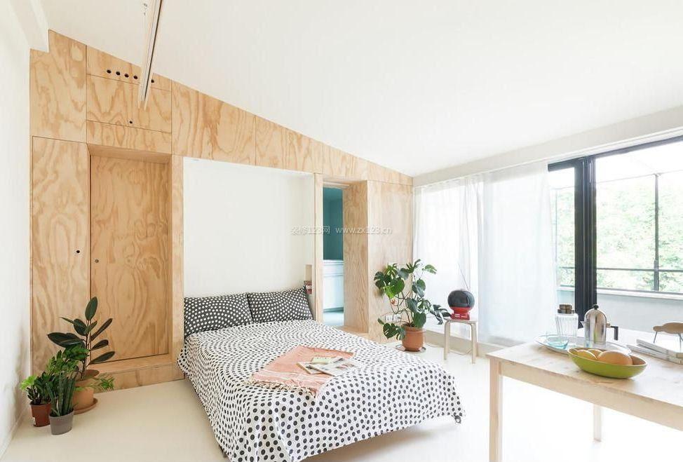 50平米南北小户型主卧室装修效果图
