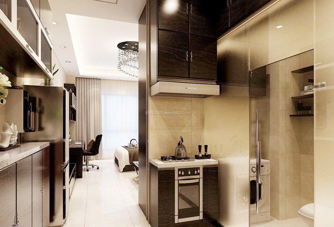40平米公寓小户型超小厨房装修效果图