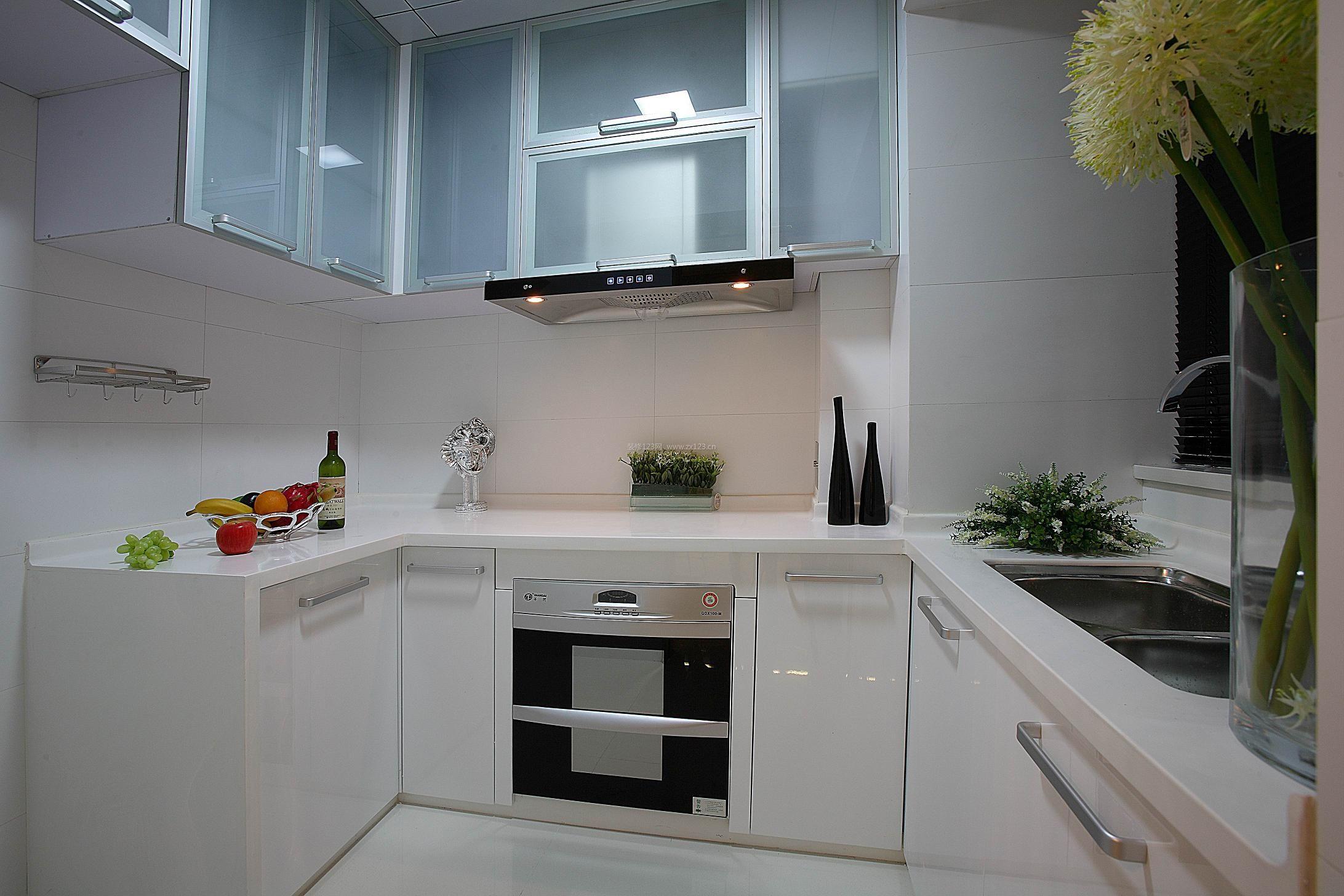 大厨房橱柜设计图展示