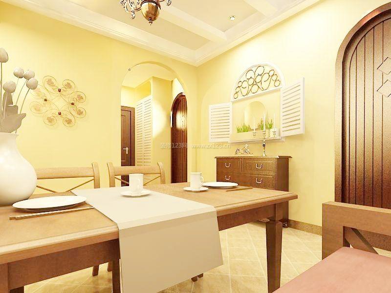 家装效果图 餐厅 40平米公寓小户型餐厅装修效果图 提供者:   ←