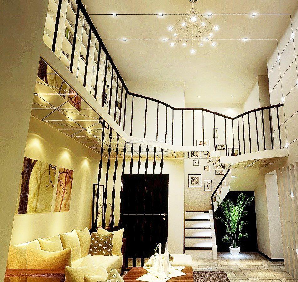 复式楼室内楼梯设计装修效果图大全图片图片