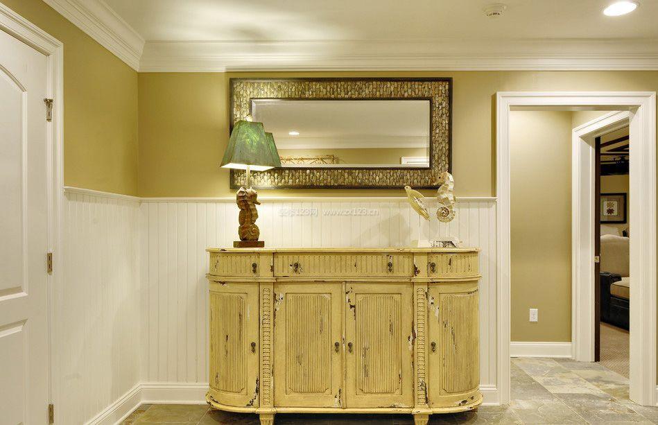 家装室内玄关鞋柜设计效果图
