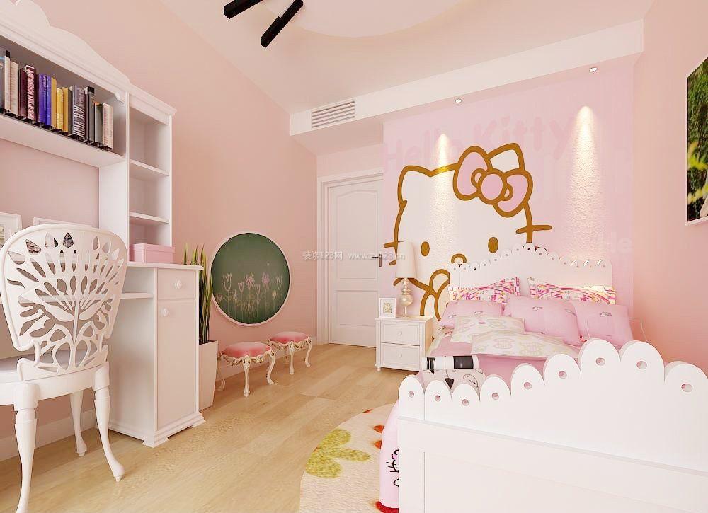 50平米南北小户型女孩卧室装修效果图