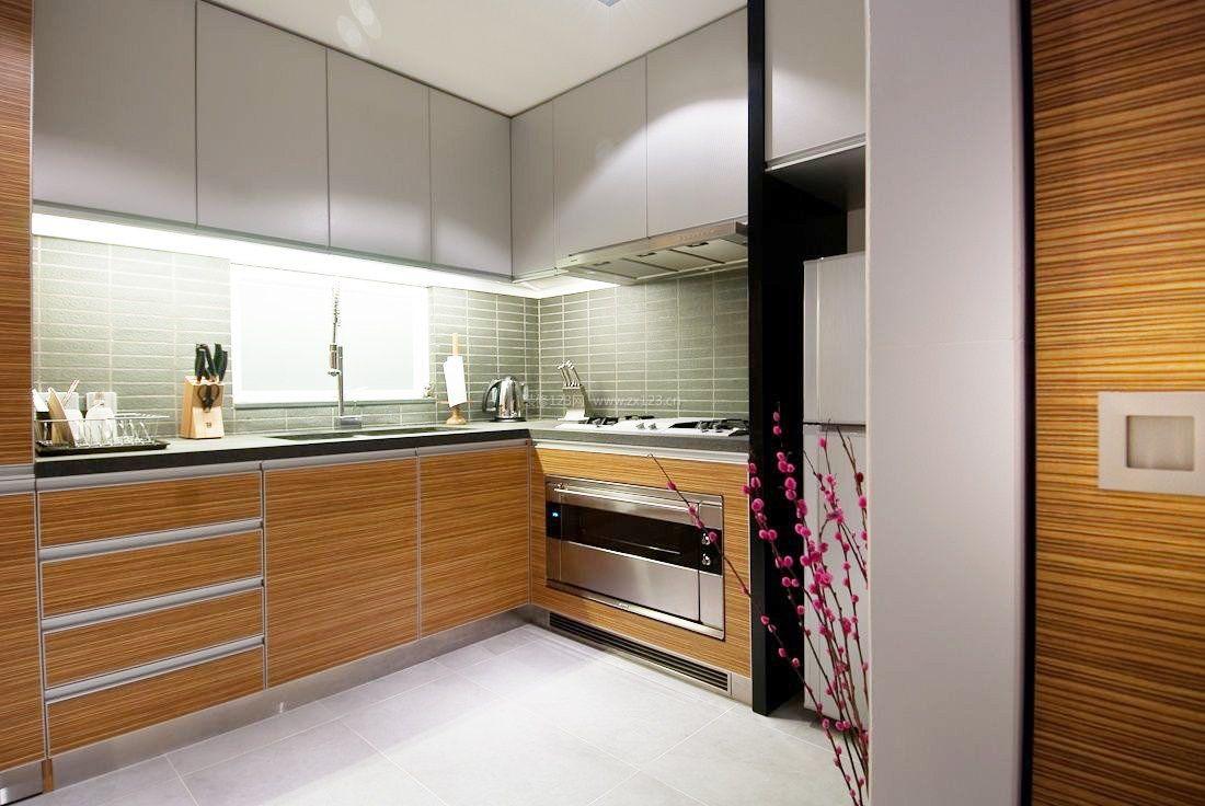 50平米南北小户型l型厨房装修效果图
