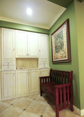 房屋室内玄关鞋柜设计装修效果图