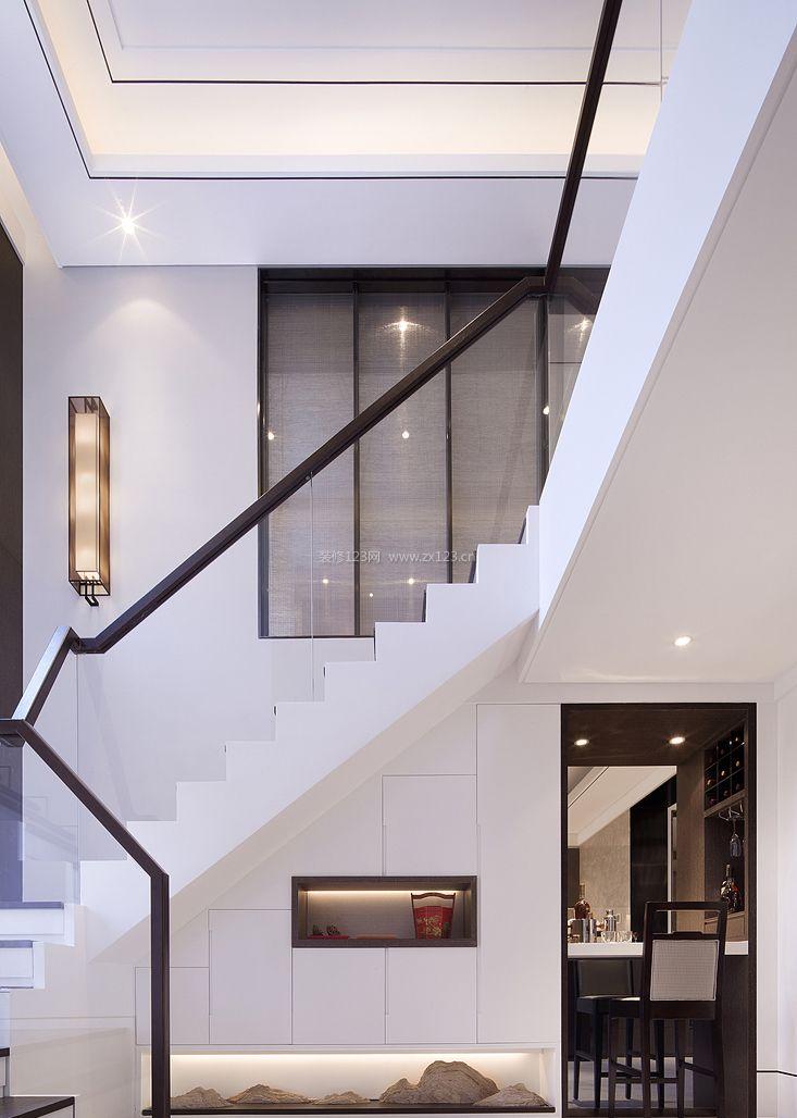 新中式楼中楼客厅图片-新中式客厅装修效果图,农村楼中楼设计图大全图片