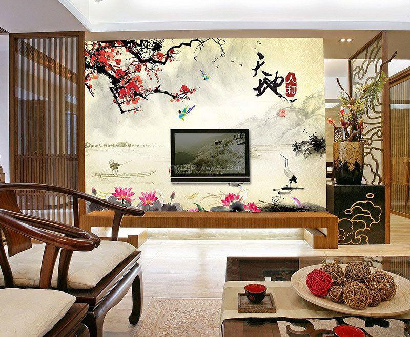3d电视瓷砖背景墙效果图