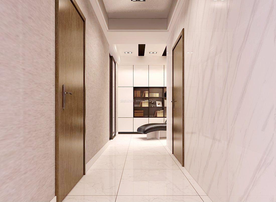 走廊室内地板砖铺设效果图_装修123效果图