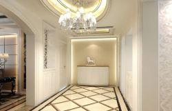 走廊室内地板砖铺设效果图图片
