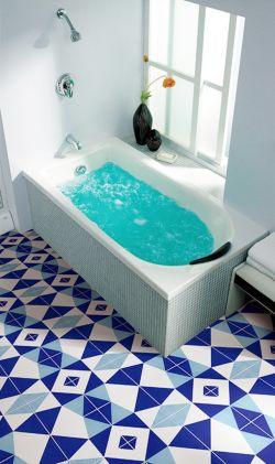 衛生間地板磚顏色鋪設效果圖